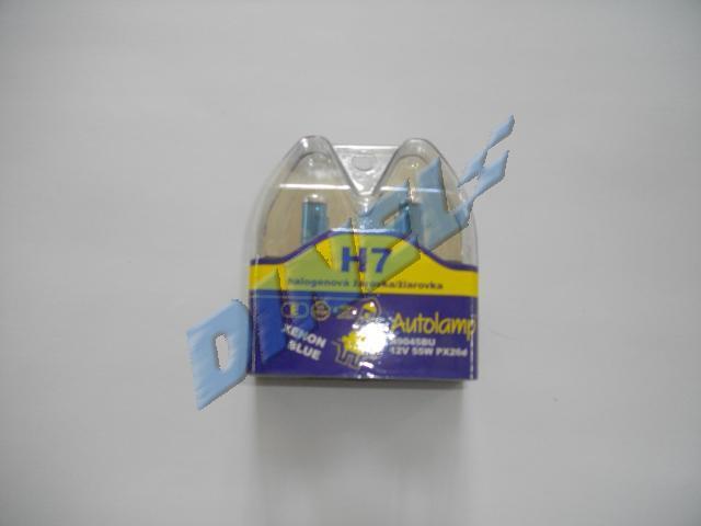 КРУШКА /AUTOLAMP/ - 12V - 55W - Н7 К-Т2бр. - сини