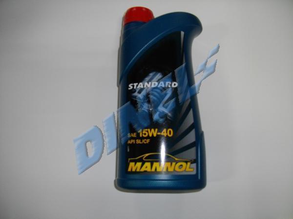 МАСЛО ДВИГ. - MANNOL /15W40/ STANDART - 1л.