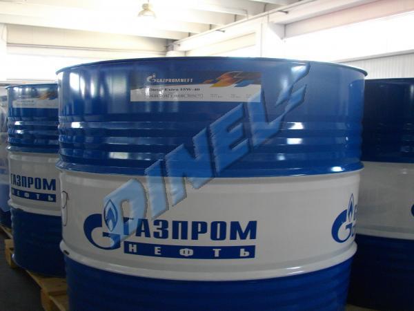 МАСЛО ДВ.-Газпром - Дизел Екстра-15W40-205л.