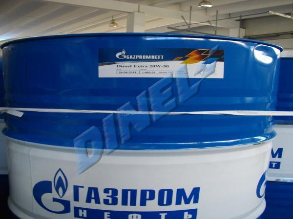 МАСЛО ДВ.-Газпром - Дизел Екстра-20W50-205л.